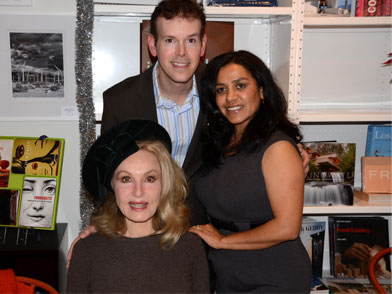 Julie Newmar, Stephen Schmidt and Isabel Torres