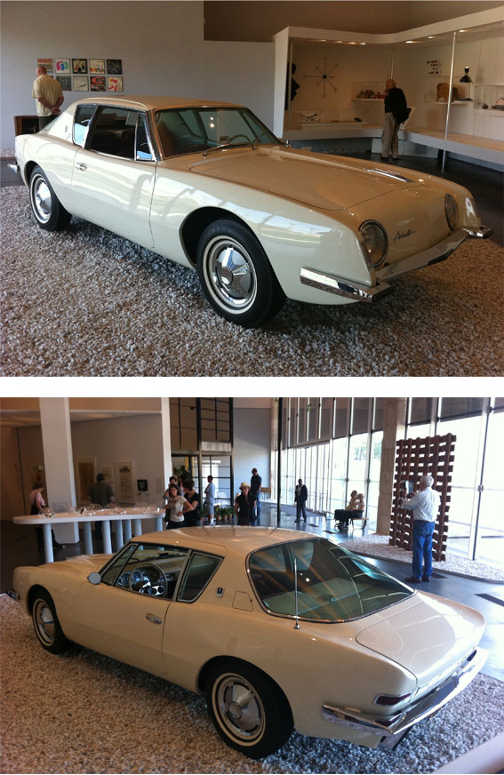 Avanti by Studebaker, 1961, designed by Raymond Loewy