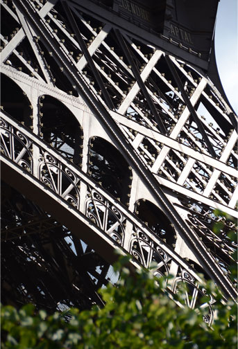 Eiffel Tower, Paris. 1889. Maurice Koechlin and Émile Nouguier, designers. Stephen Sauvestre, architect.