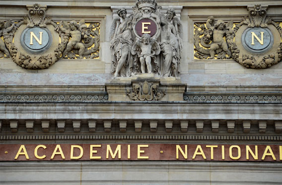 Facade of Paris Opera