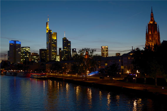 Main River, Frankfurt.
