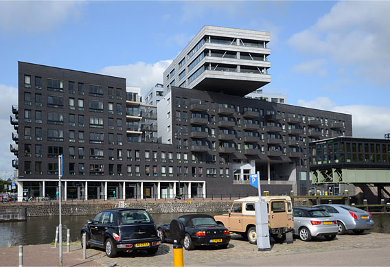 Contemporary residential building, Amsterdam.